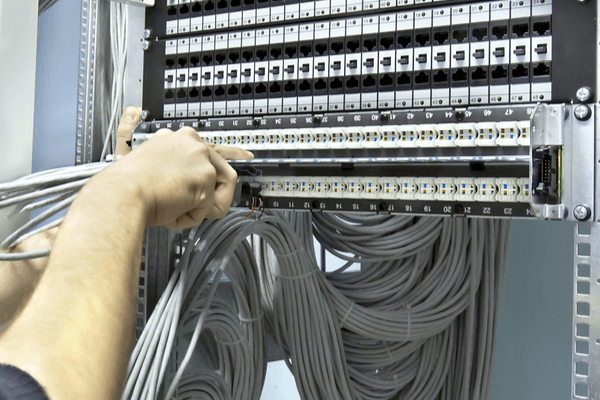 Commercial electrician structured cabling Sydney